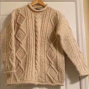 100% Irish wool sweater